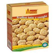 AMINO FROLLINI LATTE E VANIGLIA 200G Altri alimenti aproteici e ipoproteici