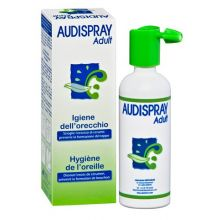 AUDISPRAY ADULTI SENZA GAS IGIENE ORECCHIE 50ML Spray per le orecchie