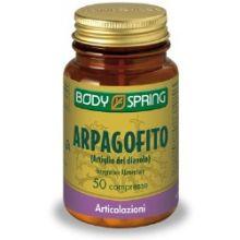 Body Spring Arpagofito 50 Compresse Ossa e articolazioni