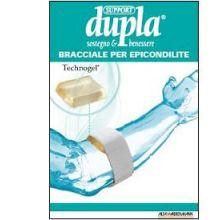 DUPLA SUPPORT BRACCIALE PER EPICONDILITE Tutori epicondilite e gomitiere