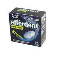 EFFERDENT ANTI BATTERICO PER DENTIERE 90 COMPRESSE EFFERVESCENTI Prodotti per dentiere e protesi dentarie