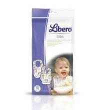 LIBERO EASY MEAL BAVAGLIO MONOUSO 10 PEZZI Set pappa e accessori