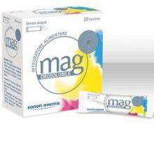 Mag Granulato Orosolubile 20 Bustine Magnesio e zinco