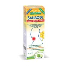SANAGOL SPRAY FORTE PROPOLI GUSTO LIME 20ML Propoli