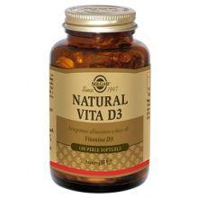 Solgar Natural Vita D3 100 perle Vitamina D
