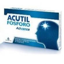 ACUTIL FOSFORO ADVANCE 50 COMPRESSE Tonici e per la memoria