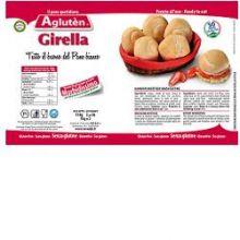 AGLUTEN PANE QUOTIDIANO GIRELLA 110G Pizza senza glutine