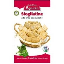 AGLUTEN SFOGLIATINE ALLE ERBE AROMATICHE 150G Altri alimenti senza glutine