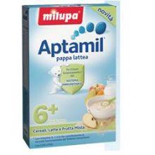 APTAMIL PAPPA LATTEA CON FRUTTA MISTA 250G Pappa lattea e farina lattea