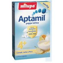 APTAMIL PAPPA LATTEA PERA 250G Pappa lattea e farina lattea