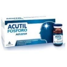 Acutil Fosforo Advance 10 flaconcini Tonici e per la memoria