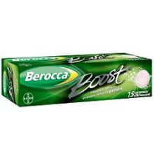 BEROCCA BOOST 15 COMPRESSE EFFERVESCENTI Multivitaminici