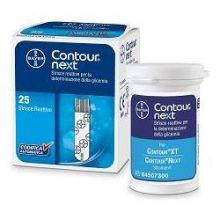 Contour Next Strisce Reattive 25 Pezzi Strisce glicemia