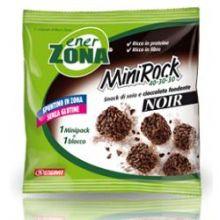 ENERZONA MINIROCK NOIR GUSTO CIOCCOLATO FONDENTE UN MINIPACK DA 24G Alimenti sostitutivi