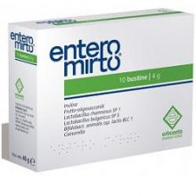 ENTERO MIRTO 10 BUSTINE DA 4G Digestione e Depurazione