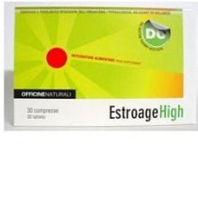 ESTROAGE HIGH 30 COMPRESSE DA 850MG Per la donna