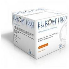 Eukom 1000 30 Bustine Orosolubili Per la vista