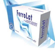 FERROLAT 20CPS Integratore Ferro