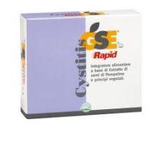 GSE Cystitis Rapid 30 Compresse Per le vie urinarie