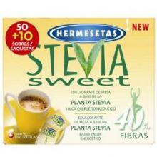 HERMESETAS STEVIA 50+10 BUSTINE Dolcificanti, sale e brodo