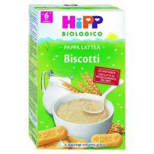 HIPP BIO PAPPA LATTEA CON BISCOTTI 250G Pappa lattea e farina lattea