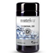 Nutriva Cromoval 200 Cr 60 Compresse Polivalenti e altri