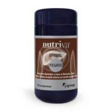 Nutriva Epaval 60 Compresse Digestione e Depurazione