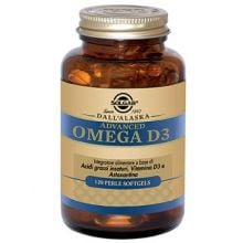 ADVANCED OMEGA D3 120 PERLE Omega 3, 6 e 9