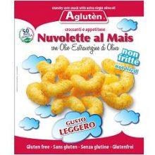 AGLUTEN NUVOLETTE AL MAIS CON OLIO EXTRAVERGINE D'OLIVA 45G Dolci senza glutine