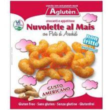 AGLUTEN NUVOLETTE MAIS E NOCCIOLINE AMERICANE 45G Dolci senza glutine