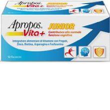 APROPOS VITA+ JUNIOR 12 FLACONCINI 10ML Difese immunitarie