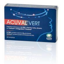Acuval Vertigini 20 Compresse Da 1,2g Antiossidanti
