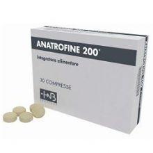 Anatrofine 200 Capelli e Unghie 30 Compresse Integratori per capelli e unghie