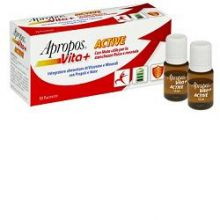 Apropos Vita+ Active 12 Flaconcini Da 10ml Difese immunitarie
