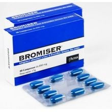 BROMISER 20CPR 850MG Per le vie urinarie