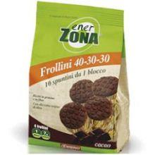ENERZONA FROLLINI CON CACAO 250G Alimenti sostitutivi