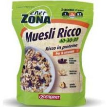 EnerZona Muesli Ricco 40-30-30 230 g Alimenti sostitutivi