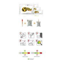 Etilometro Soffia e Sai 3 Kit Monouso Test alcolemico e antidroga