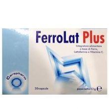 FERROLAT PLUS 20 CAPSULE Integratore Ferro