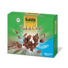GIUSTO SENZA GLUTINE SNACK CIOCK and CROCK CON CIOCCOLATO AL LATTE 125G Dolci senza glutine