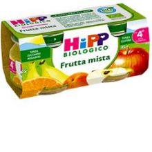 HIPP BIO OMOGENEIZZATO DI FRUTTA MISTA 2 X 80G Omogeneizzati di frutta