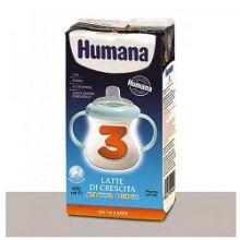 HUMANA 3 JUNIOR DRINK 470ML Latte per bambini