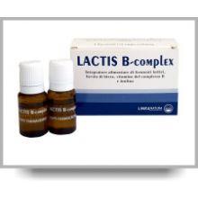 LACTIS B COMPLEX 8 FLACONCINI DA 10ML Vitamina B