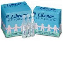 LIBENAR 25 FLACONCINI MONODOSE DA 5ML Lavaggi nasali