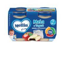 MELLIN MERENDA YOG MELA 2X120G Merende per bambini