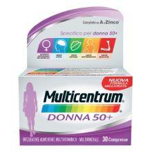 MULTICENTRUM DONNA 50+ 30CPR Per la donna
