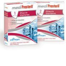 Medipresteril Ghiaccio Istantaneo 2 Pezzi Ghiaccio spray e borse del ghiaccio