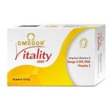 Omegor Vitality 1000 30 Perle 910892886 Colesterolo e circolazione