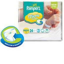 PAMPERS MICRO 24PZ Pannolini