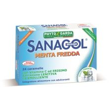 SANAGOL MENTA FREDDA 24CARAMEL Prodotti per gola, bocca e labbra
